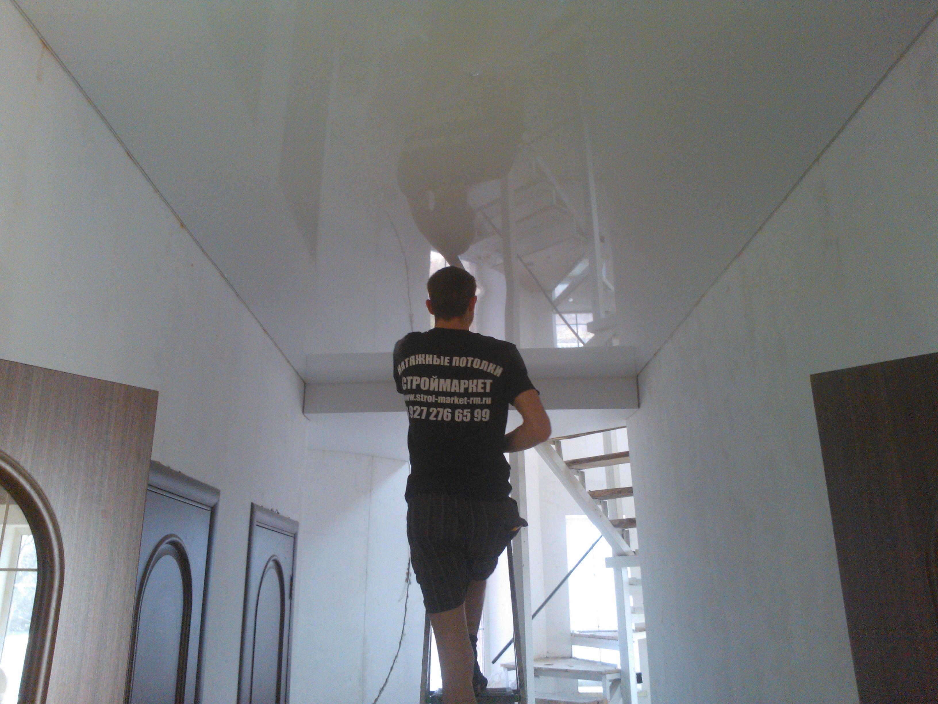 фото натяжные потолки в саранске цены